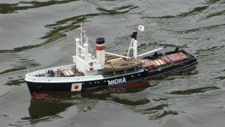 Miura - Scratch Built Scale Model Rc Boat