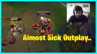 Yassuo Almost Sick Outplay...LoL Daily Moments Ep 1563