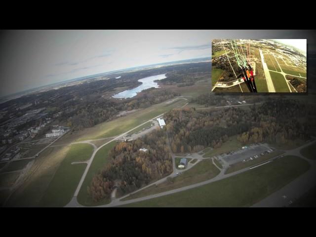 Paragliding Barkarby 121013