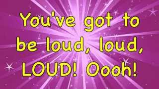 Matilda The Musical - Loud - Lyrics!! (HD)