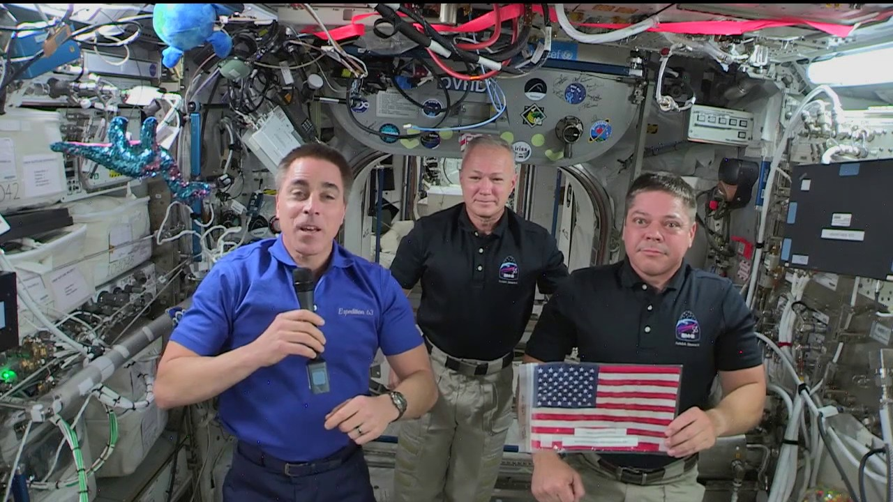 Independence Day Message from Astronauts in Space - NASA