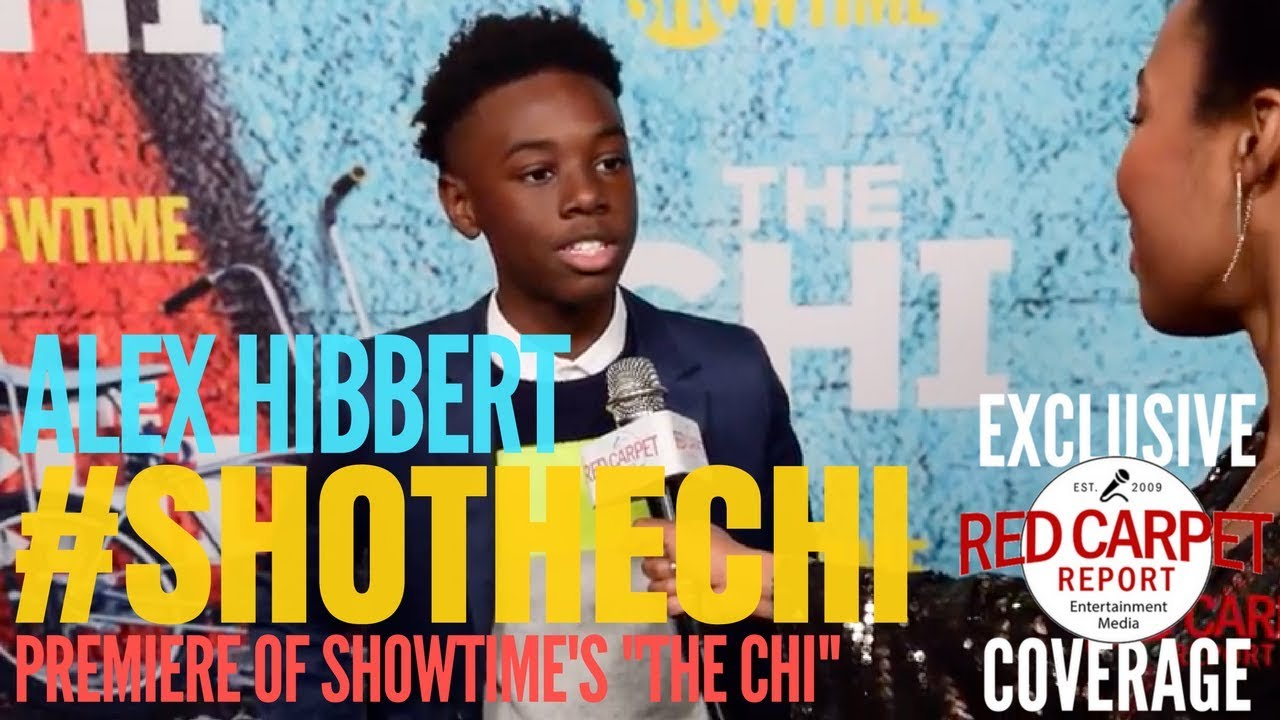 Alex Hibbert interviewed at premiere of Showtimes\'s new series \