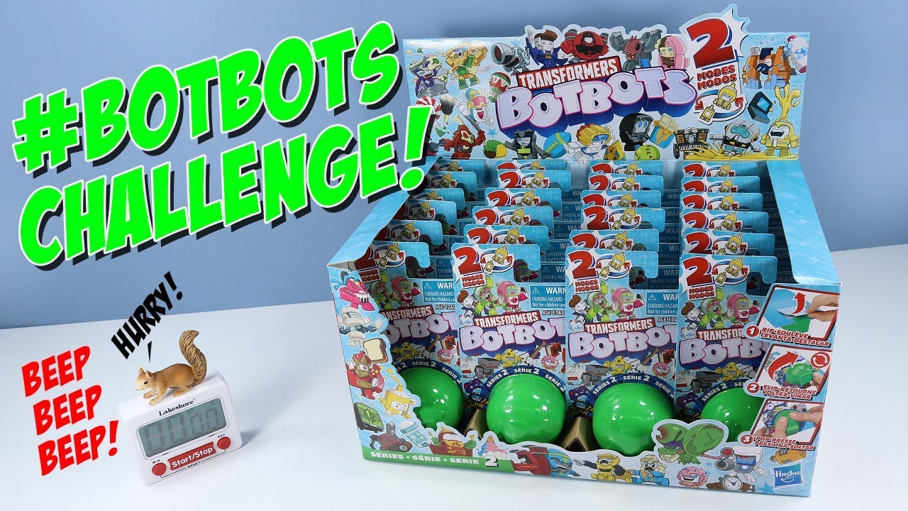 Download Transformers BOTBOTS Series 2 Challenge Unboxing Review Hasbro