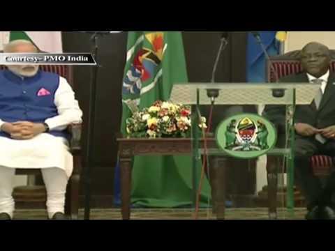 PM Shri Narendra Modi's Delegation level Talks in Tanzania