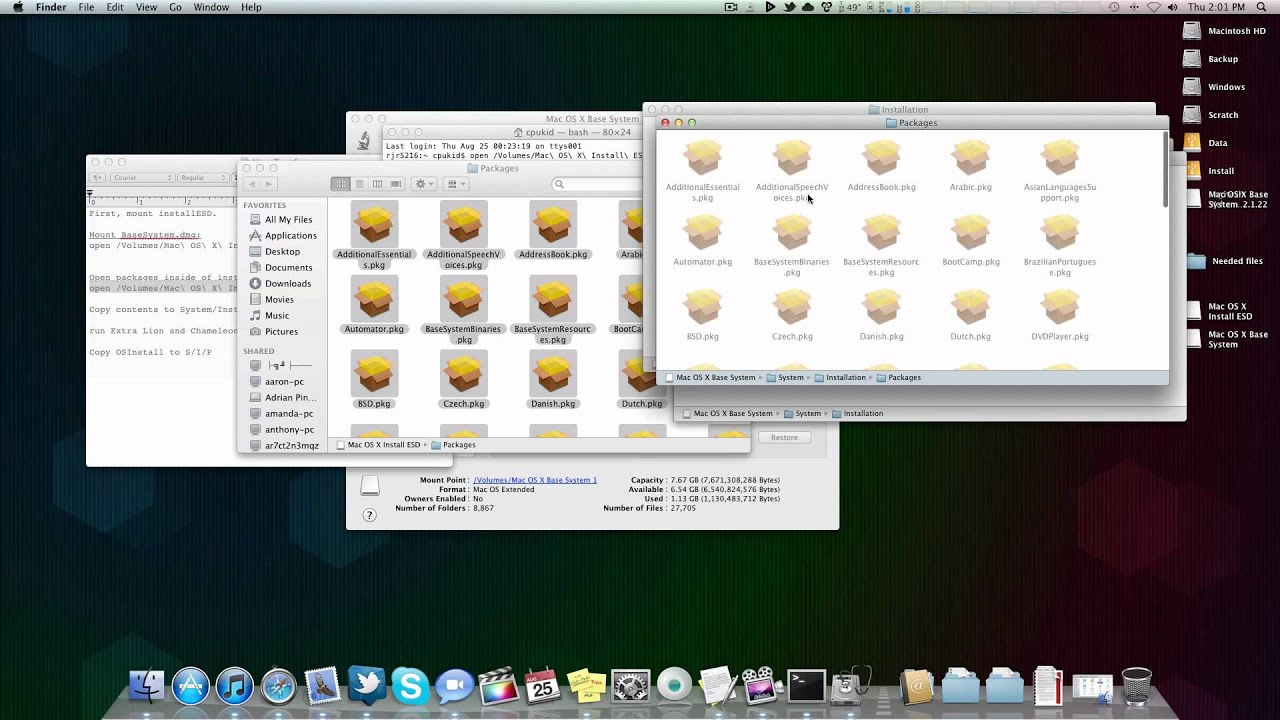 how to set up a hackintosh