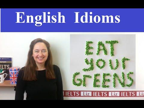 English Idiom: Eat your greens