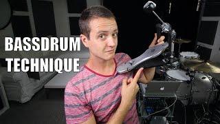 Bass Drum Technique (Slide / Heel Toe) - Daily Drum Lesson