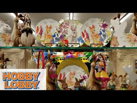 Shop With Me Hobby Lobby Easter Decorations Basket Ideas