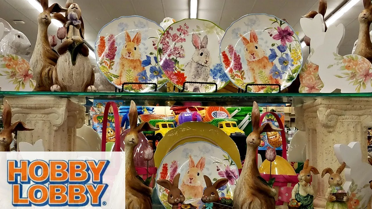 Shop With Me Hobby Lobby Easter Basket Decoration Ideas