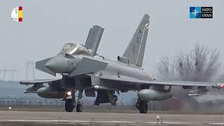 Paznic Detachment: Spanish Eurofighters 'Typhoon' over Romania