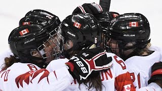 Canada vs. O.A.R. in Women's Semi-Final Hockey at Winter Olympics | Pyeongchang 2018