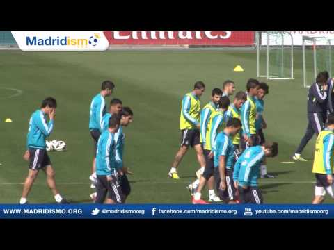 Real Madrid Training ahead of Betis match