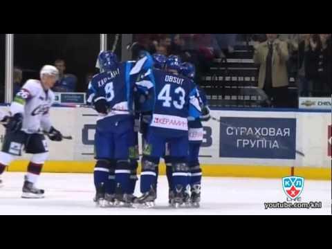 Сибирь - Динамо Минск 5:2 / Sibir - Dinamo Minsk 5:2из YouTube · Длительность: 4 мин25 с  · Просмотры: более 10.000 · отправлено: 8-1-2012 · кем отправлено: КХЛ