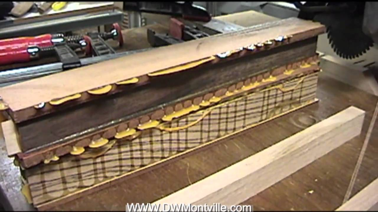 Making Laminated Turning Blanks Trimming Youtube