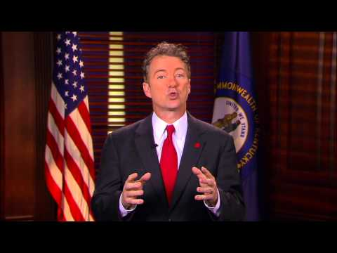 Sen. Rand Paul Delivers Response to President's State of the Union Address - January 28, 2014
