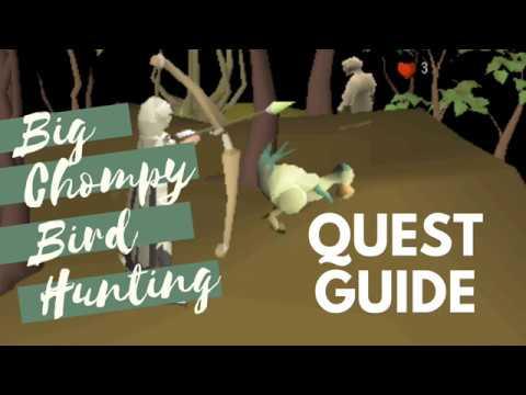 Big Chompy Bird Hunting OSRS Quest Guide 2019