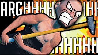 ARGHHHHHHHHHHHHHHHH! - Getting Over It With Bennett Foddy COMPLETE INCANDESCENT FURY!