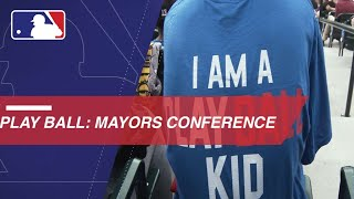 Tom Brasuell at Mayor's Conference for Play Ball