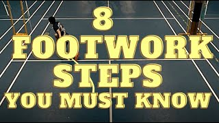 Download lagu EIGHT FOOTWORK STEPS to Make You A FASTER Badminton Player!