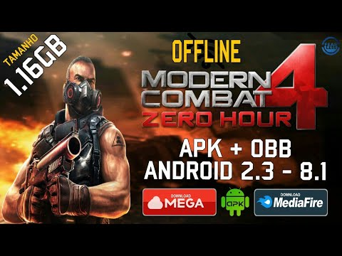 Modern Combat 4 - Download para Android 2.3 - 8.1