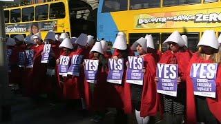 ايرلندا تصوت على قانون الإجهاض.. وتوقعات بنجاح المطالبين بالتغيير…