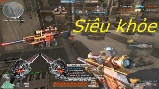 [ Bình Luận CF ] SR25-Burning Shot - Tiền Zombie v4