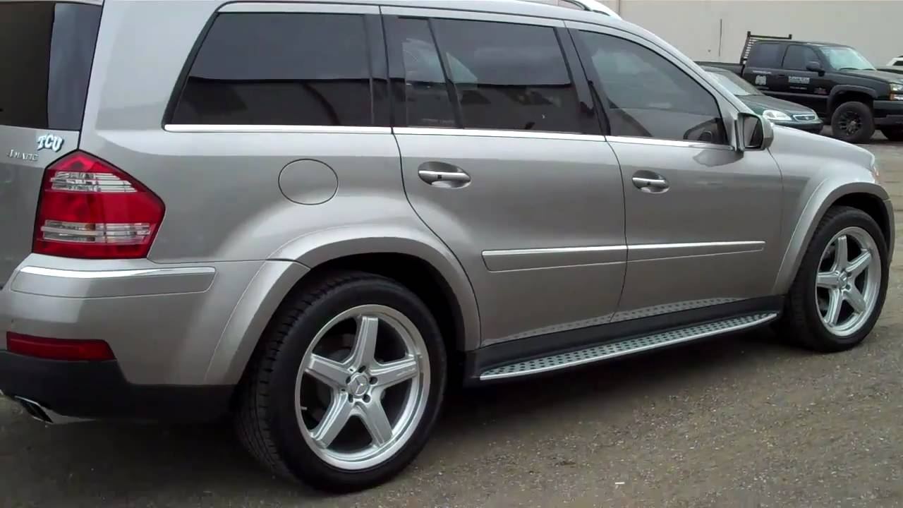 2009 Mercedes Benz Gl550 To Be Auctioned April 13 2011 Youtube