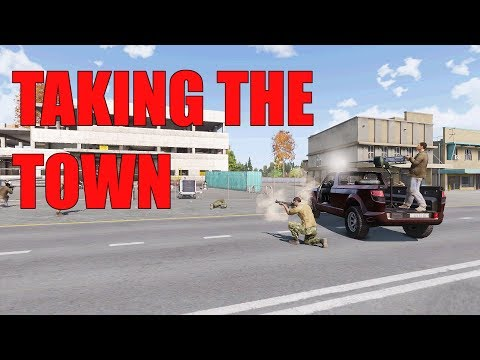 Taking the Town: Arma 3 Far Cry Phase 4