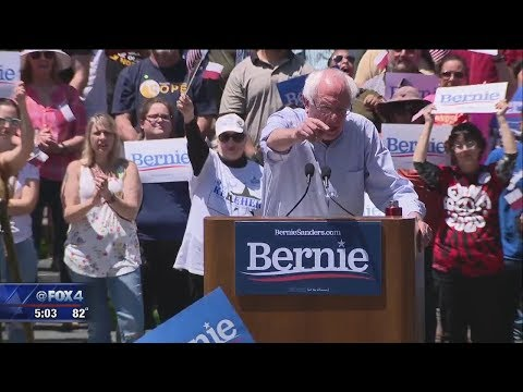 Bernie Sanders holds rally in Fort Worth