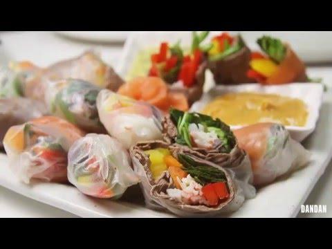 집에서 쉽게 만들어먹는 월남쌈 : Spring roll at
