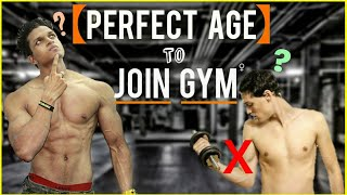What is PERFECT AGE to Join GYM? Can we Join GYM at 16? | Yash Anand