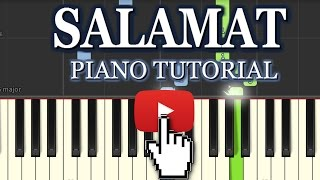 SALAMAT SARBJIT Piano Cover/Tutorial : How To Play Salamat On Piano,Keyboard,Casio