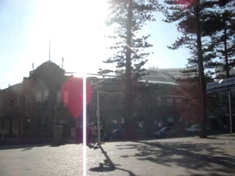 Australia - Panorama of Manly Beach and the Corso MOV09349.MPG