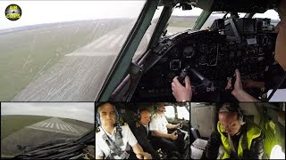 Fighting with the beast! Captain flies smooth Antonov 26 Touch & Go, see his workout! [AirClips]