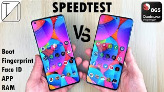OnePlus 8 Pro vs Galaxy S20 Ultra Speed Test