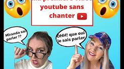 MA PREMIÈRE VIDÉO YOUTUBE SANS CHANTER !! // Miranda Tremblay Girard