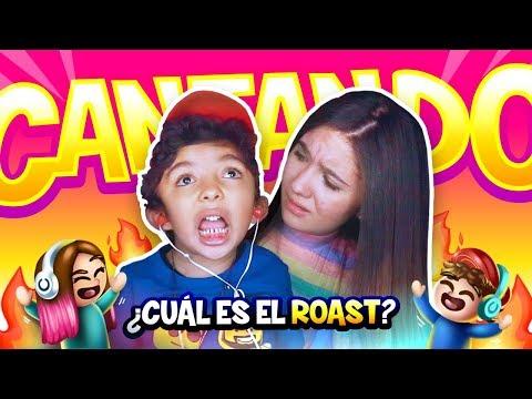 CANTANDO ROAST YOURSELF SIN ESCUCHARME ft: Mi hermanito Aladdin - Amara Que Linda