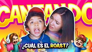 CANTANDO ROAST YOURSELF SIN ESCUCHARME ft: Mi hermanito Aladdin - Amara Que Linda