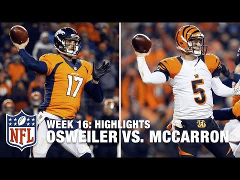 AJ McCarron vs. Brock Osweiler (Week 16) | NFL Highlights