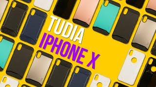Tempered Glass CASE?! - Tudia iPhone X Cases - First Look & Giveaway!