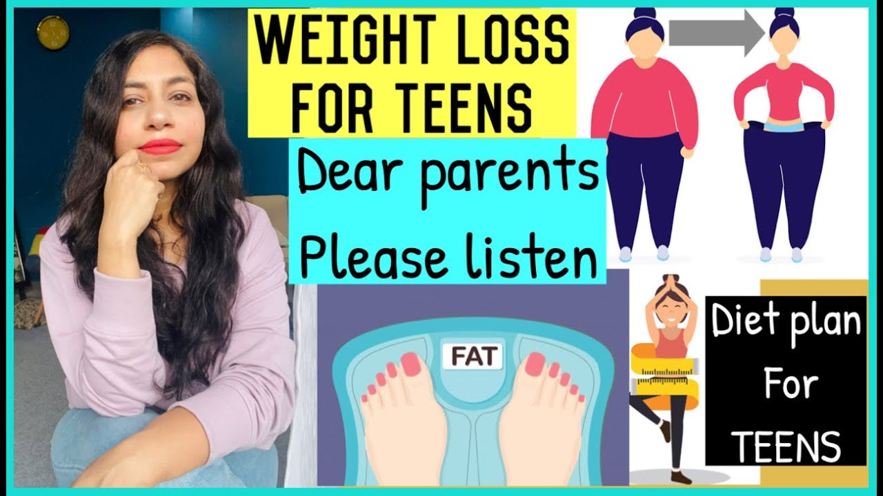 TEENAGERS WEIGHTLOSS | WEIGHT LOSS DIET PLAN FOR TEENS |AzraKhanFitness