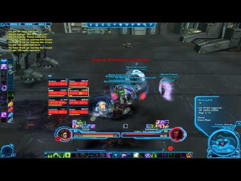 Swtor   Warlord Kephess Explosive Conflict Hard Mode - 8 Man (Healer POV)