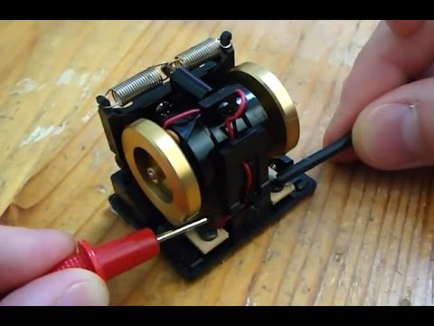 Mechanical Gyroscope / Angular Rate Sensor (Old RC Gyro)
