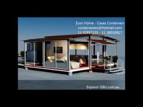 Ecos home casas containers modulos habitables youtube - Container casa precio ...