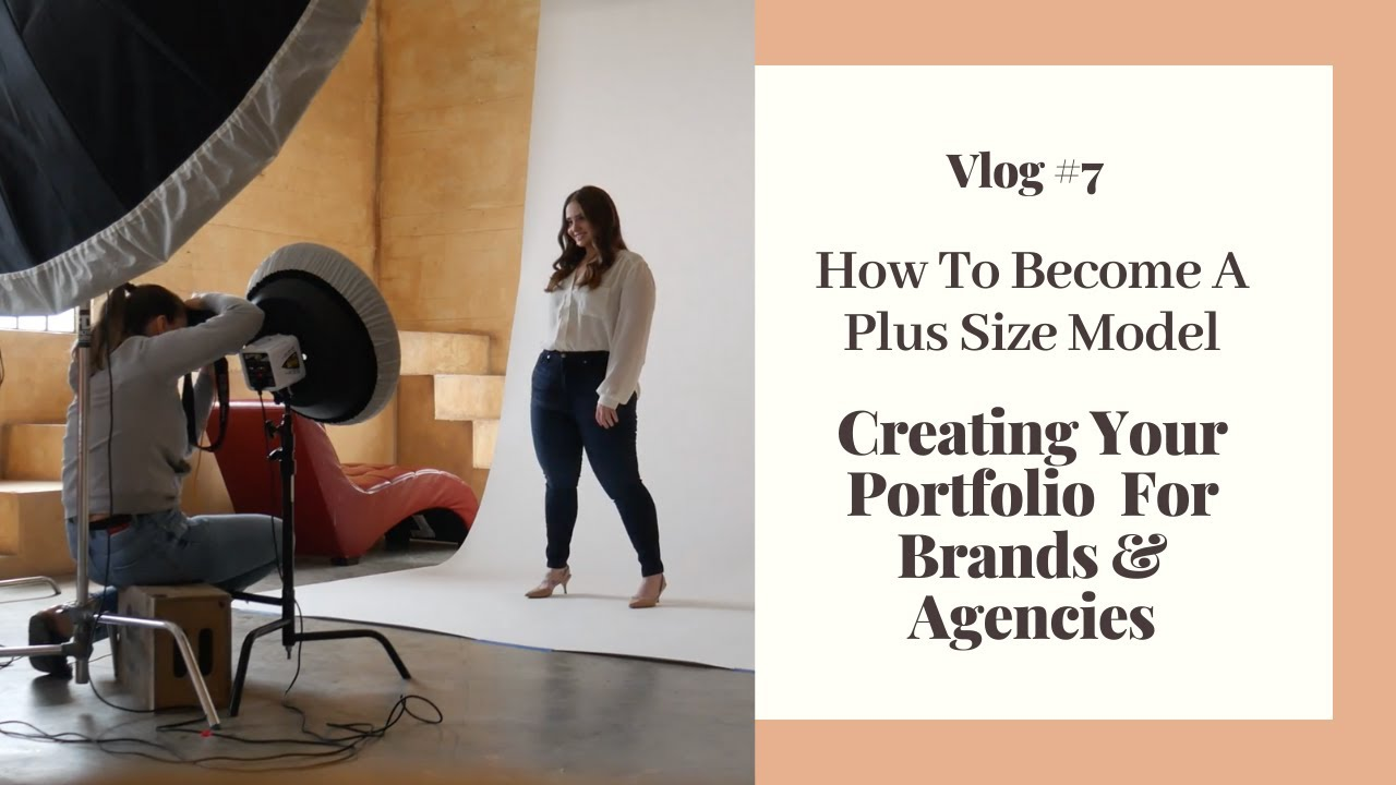 How To Become A Plus Size Model: Creating Your Portfolio For Brands & Agencies | Hayley Herms Vl
