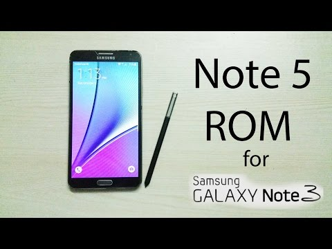 Note 5 ROM for Note 3 N900 - YouTube