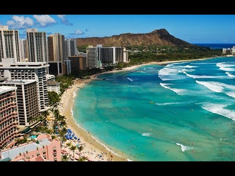 ❤ Beautiful HAWAII Island ❤ Waikiki   Honolulu   Travel Guide HD