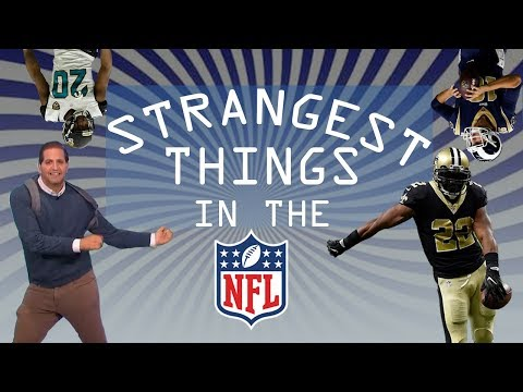 The Strangest Things in the NFL | Good Morning Football | NFL Network