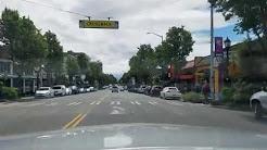 California Avenue Dash Cam Tour West Seattle, Washington June 1, 2017