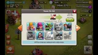 Top 3 Raid/Troop stategys for Town Hall 7 - COC 2014